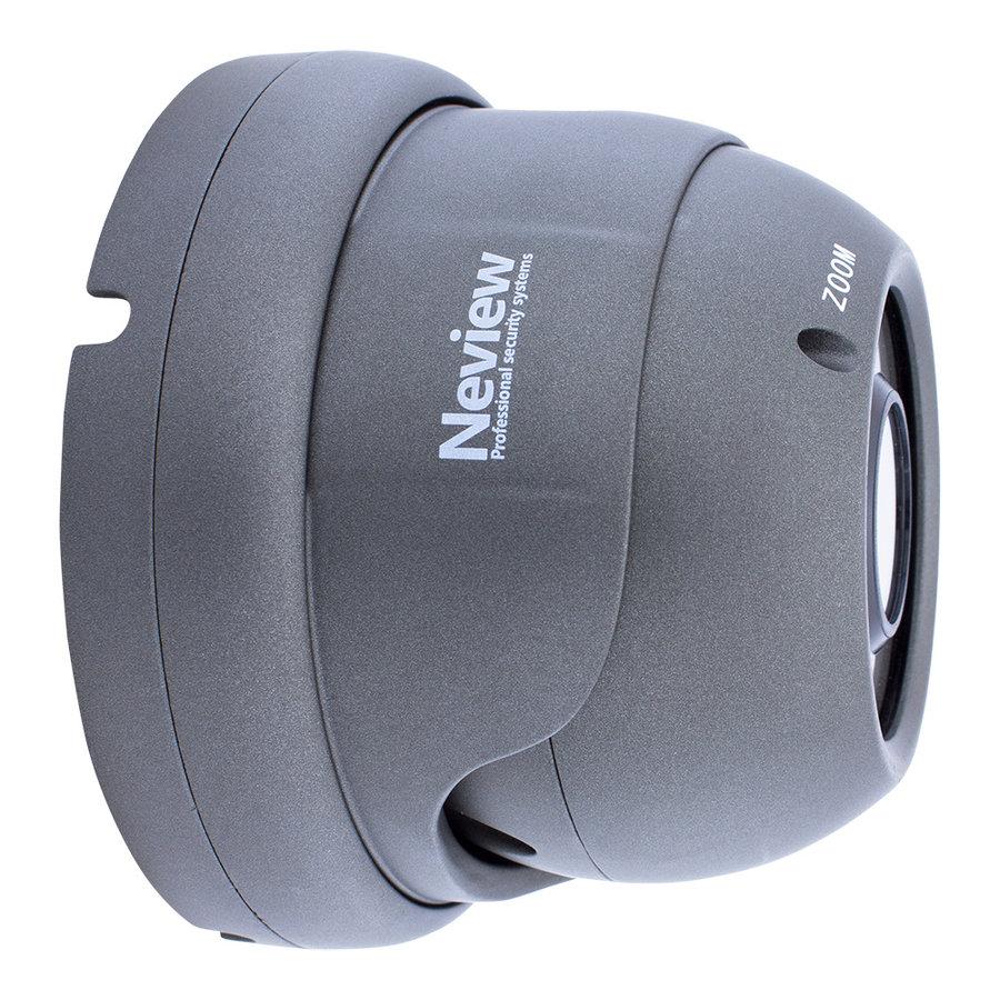 CHD-5MD1-G - 5.0 MegaPixel IP camera met PoE - Grijs