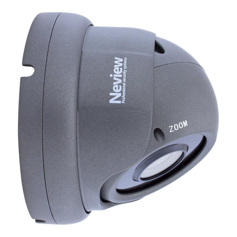 CF-5M-DC2-G - 4-in-1 5 MegaPixel camera met BNC - Grijs