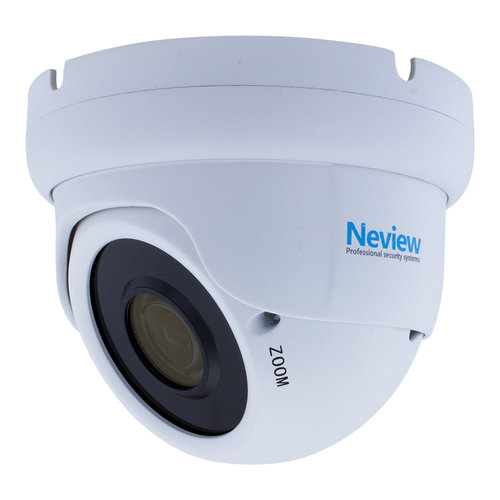 Neview CF-5M-DC2-W - 4-in-1 5 MegaPixel camera met BNC - Wit