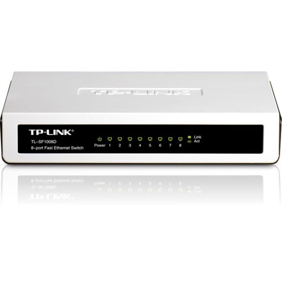 TP-link 8 poort 10/100 Mbit switch