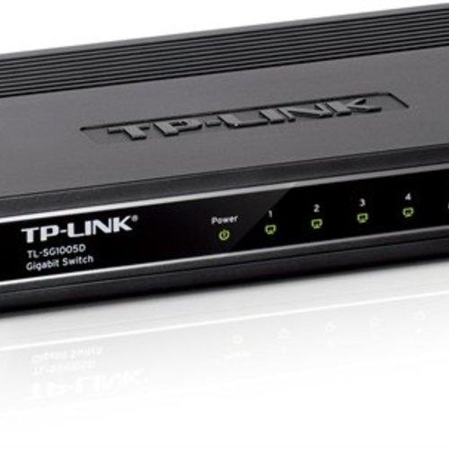 TP-link 5 poort 10/100/1000 Mbit switch