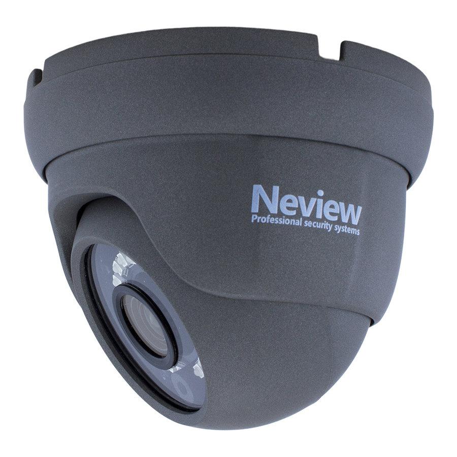 CHD-S02-4KD5-G - Set met recorder en  2x CHD-4K-D5 grijze IP camera