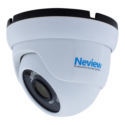 Neview CHD-S03-4KD5-W - Set met recorder en  3x CHD-4KD5 witte IP camera