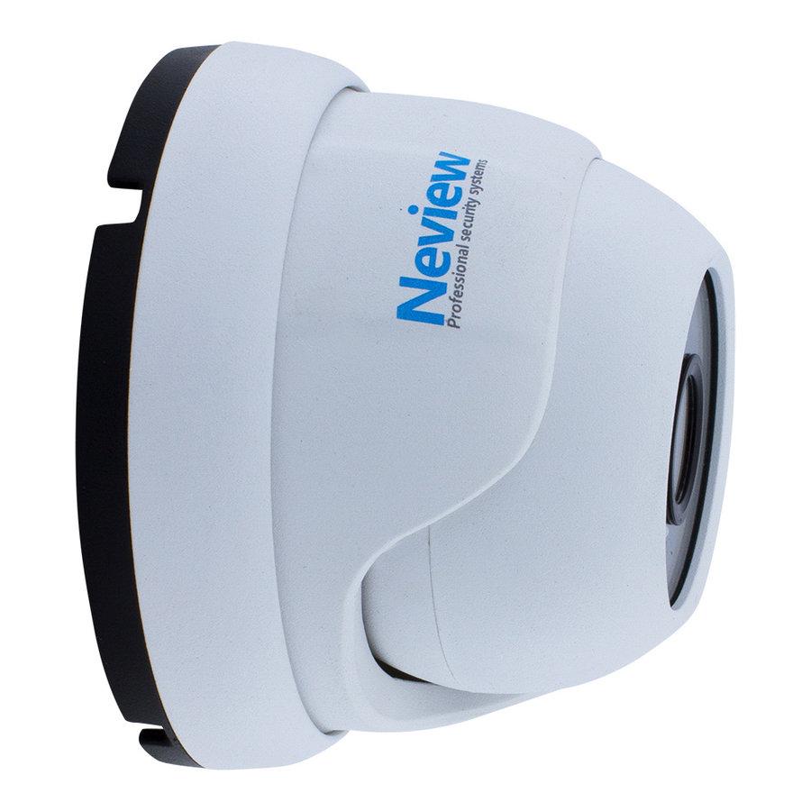 CHD-S06-4KD5-W - Set met recorder en  6x CHD-4KD5 witte IP camera