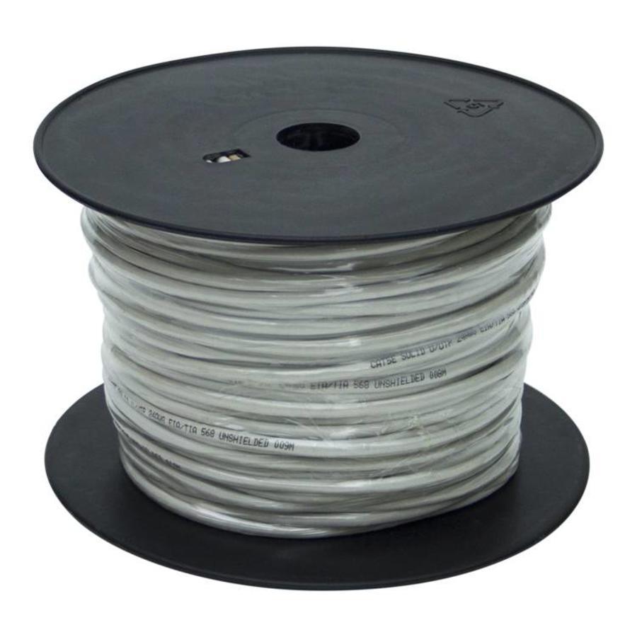 100 meter UTP CAT5e netwerkkabel zonder stekkers