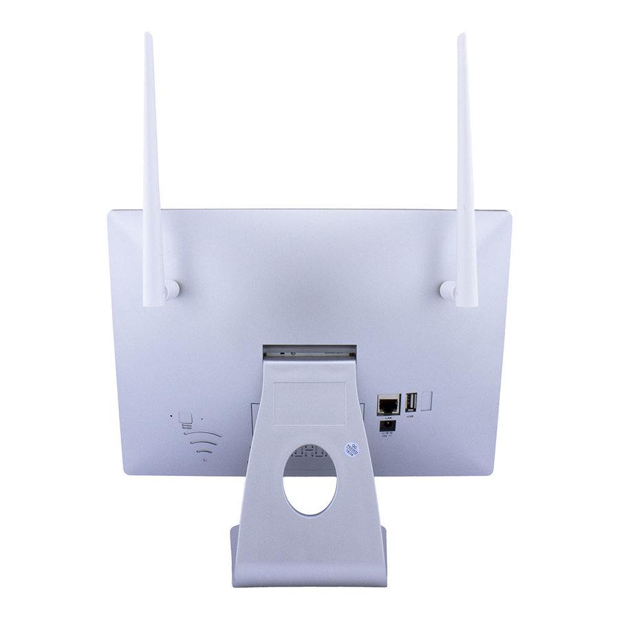 WFS-S01-5MB3 - 5 MegaPixel wifi camera set met beeldscherm en 1 camera