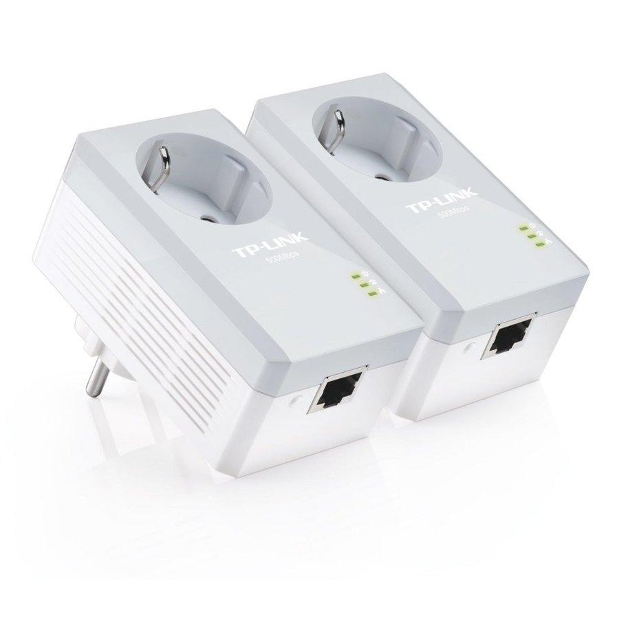 TP-link powerline adapter - Met stopcontact