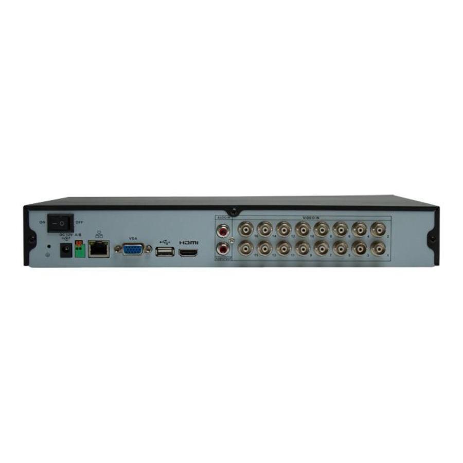 CC-XVR16 - 720p HD recorder voor 16 camera's