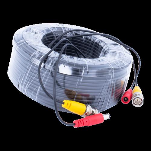 Neview CW-K40 - 40 meter kabel met BNC en 12 volt stekkers
