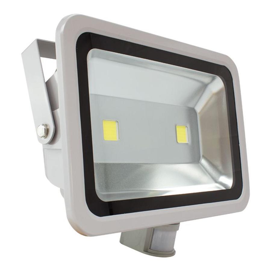 100 watt led bouwlamp met bewegingsmelder