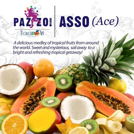 FLAVOUR ART PAZZO ACE