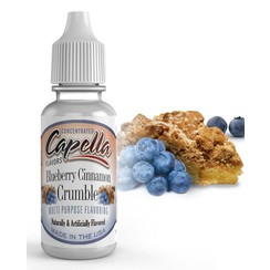 BLUEBERRY CINNAMON CRUMBLE 1ML