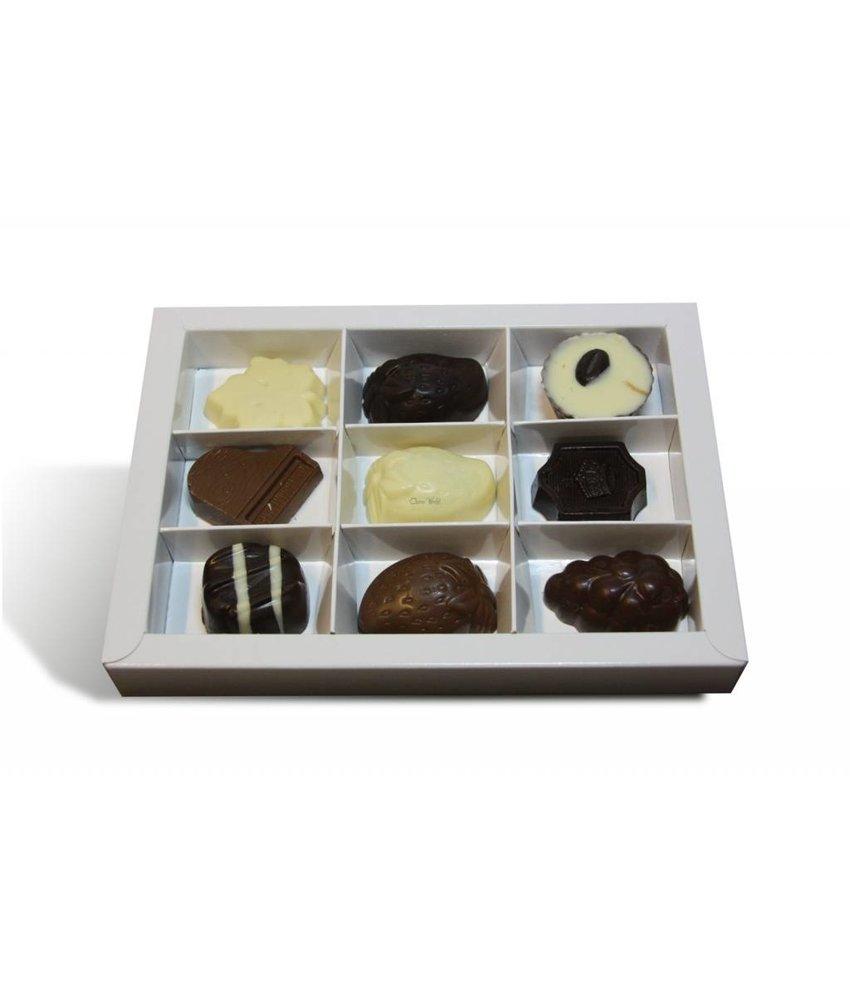 Chocolaterie Vink Chocolade Bonbons Assortiment groot 9 stuks