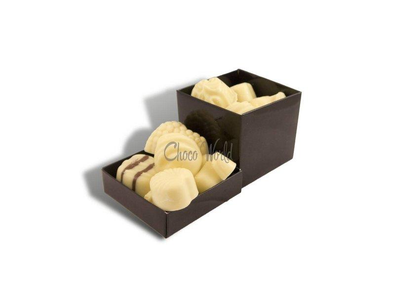 Chocolaterie Vink Bonbons Wit met Slagroomvulling Klein