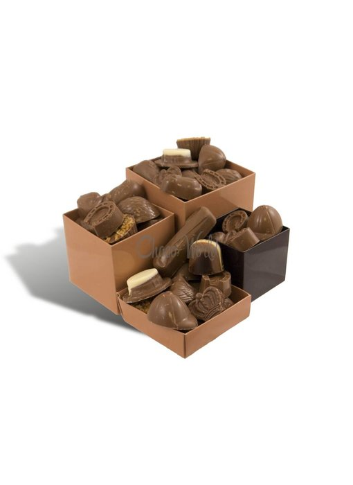 Chocolaterie Vink Bonbons Melk met Slagroomvulling Kingsize