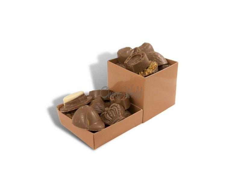 Chocolaterie Vink Bonbons Melk met Slagroomvulling Middel
