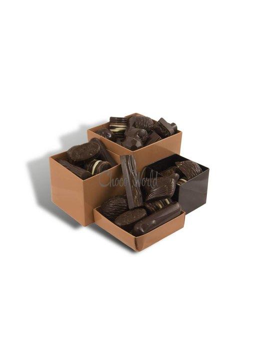 Chocolaterie Vink Bonbons Puur met Slagroomvulling Kingsize