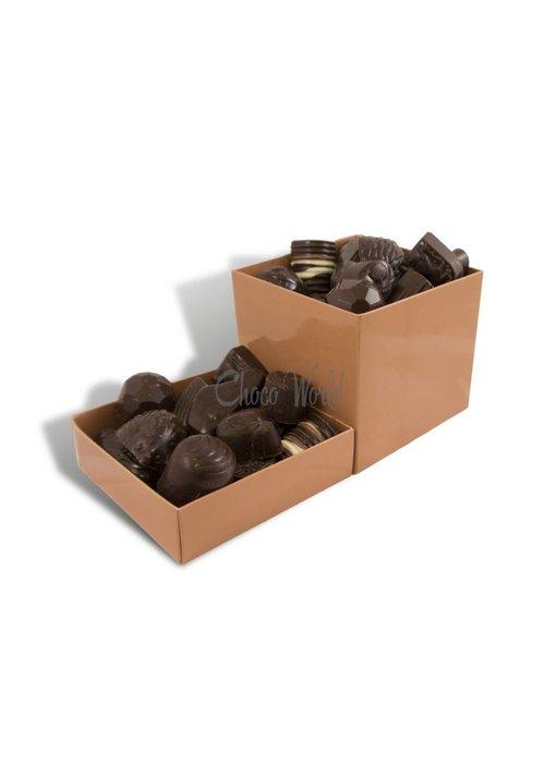 Chocolaterie Vink Bonbons Puur met Slagroomvulling Groot