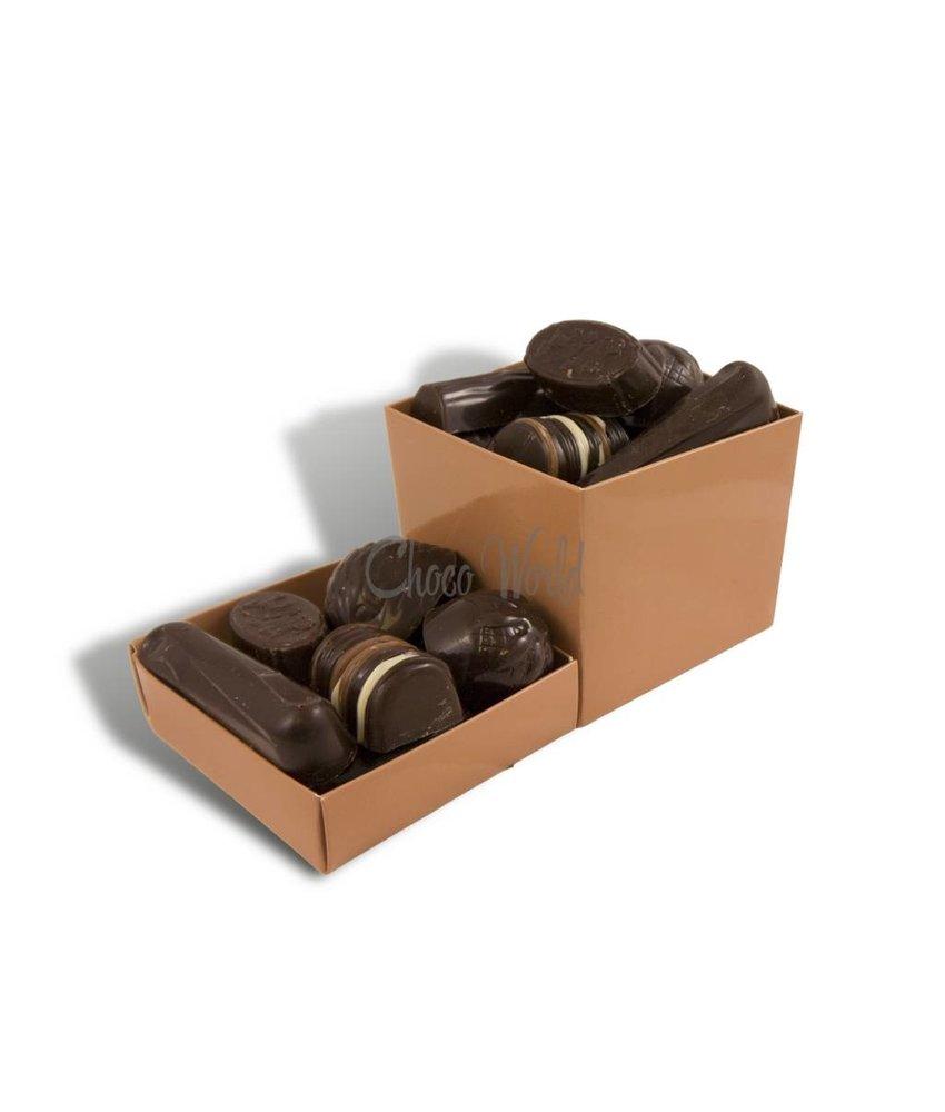 Chocolaterie Vink Bonbons Puur met Slagroomvulling Middel