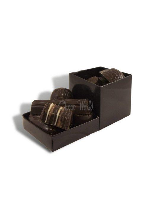 Chocolaterie Vink Bonbons Puur met Slagroomvulling Klein
