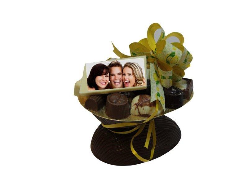Chocolaterie Vink Ei Klein Melk / Bonbons Assorti met Foto