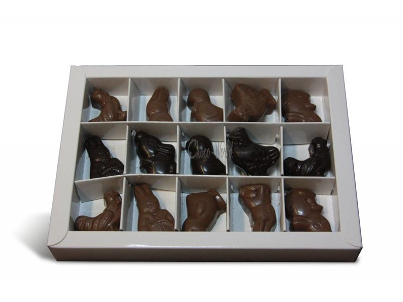 Chocolaterie Vink Paaskippen 15 st. met advocaatvulling