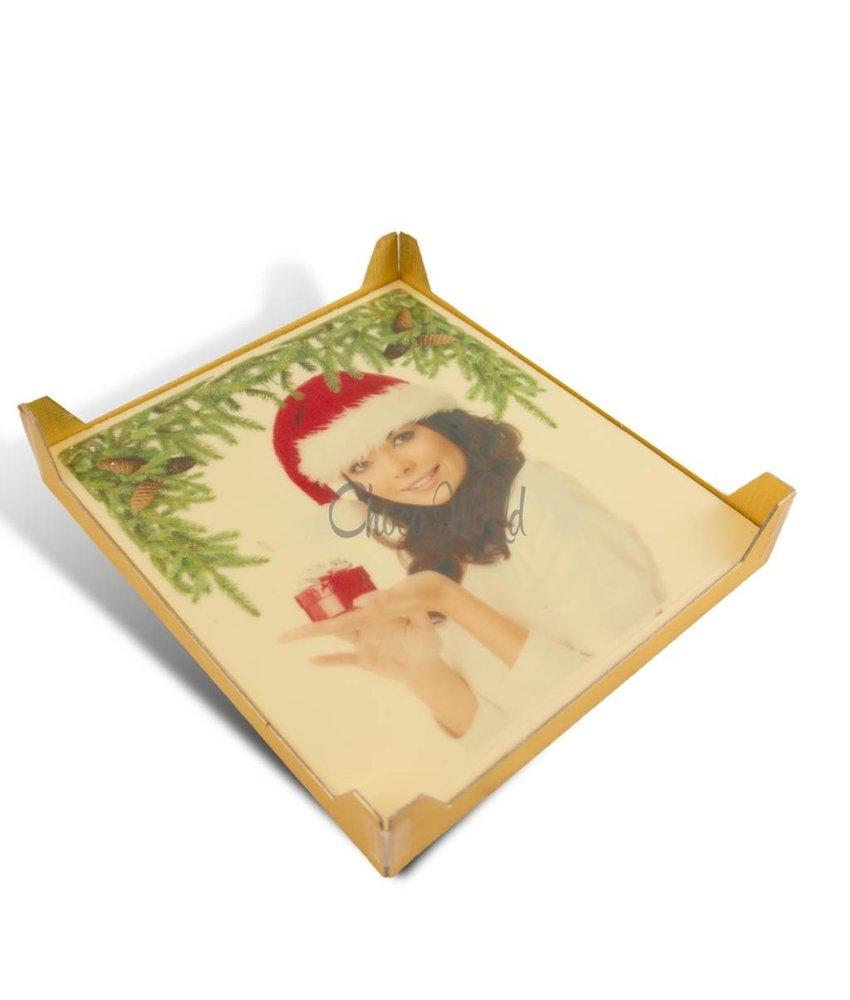 Chocolaterie Vink Kerstkaart groot met foto