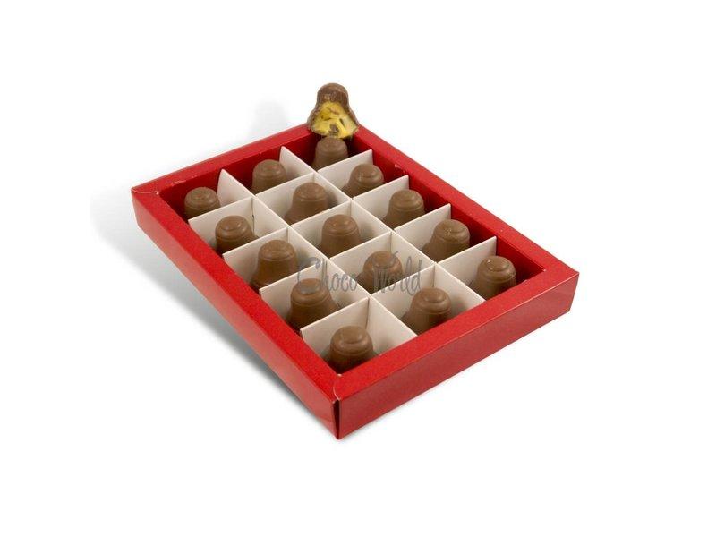 Chocolaterie Vink Kerstklokjes Melk 15 st. Advocaatvulling