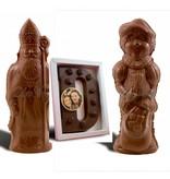 Chocolaterie Vink Sinterklaas, Piet en letter met foto