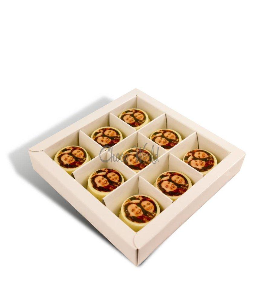 Chocolaterie Vink Verjaardagsmunten met foto