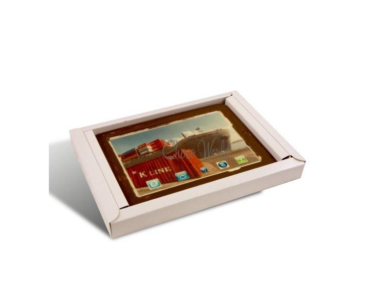 Chocolaterie Vink iPad met foto