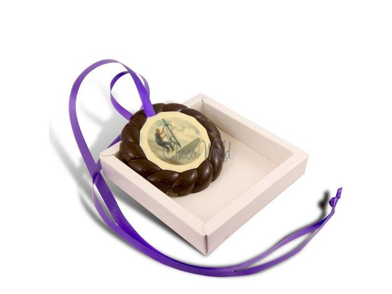 Chocolaterie Vink Examen Medaille Puur met Foto
