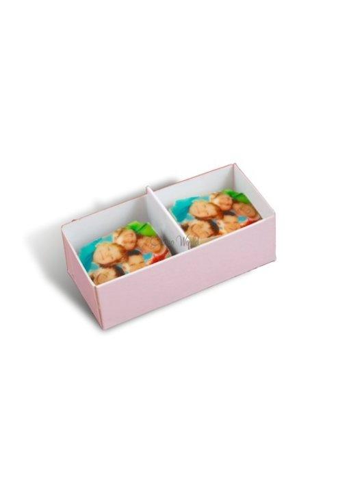 Chocolaterie Vink Bonbons Melk met Foto/Logo 2 stuks