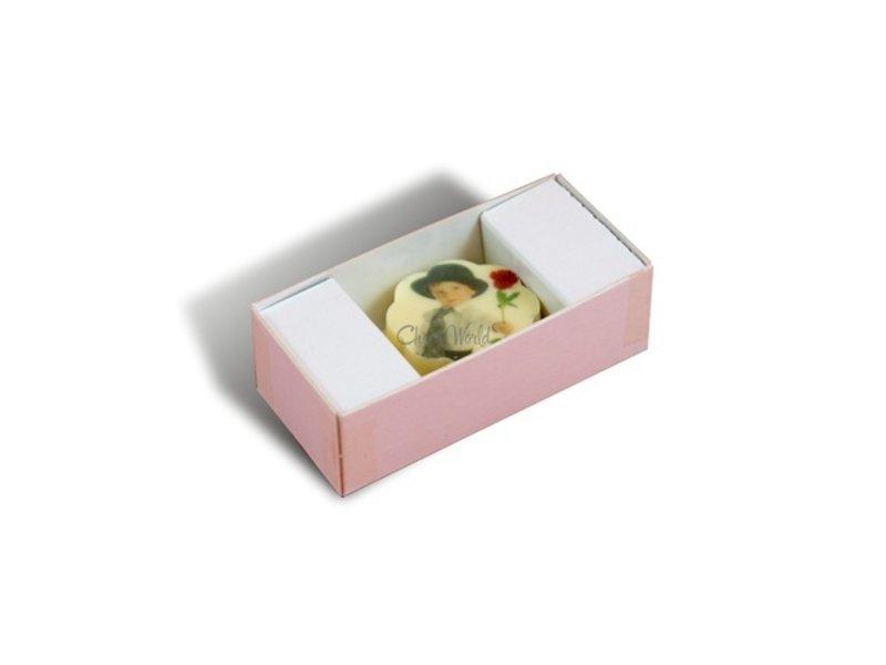 Chocolaterie Vink Bonbons Wit met Foto/Logo 1 stuk