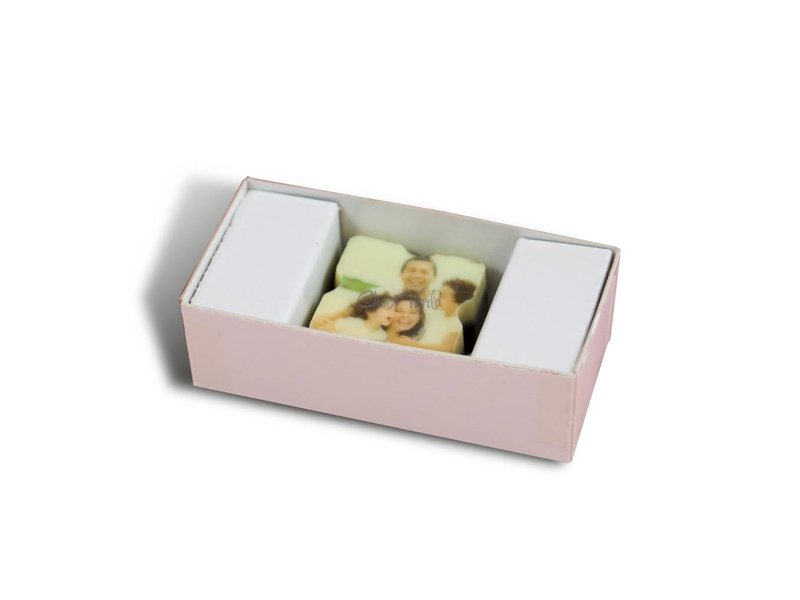 Chocolaterie Vink Bonbons Puur met Foto/Logo 1 stuk