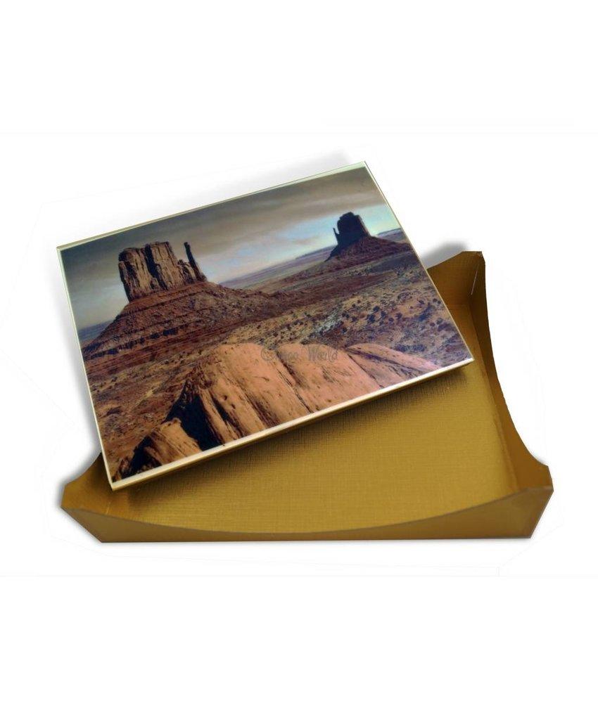 Chocolaterie Vink Kaart A4 Wit met Foto/Logo