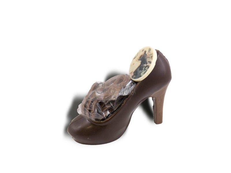 Chocolaterie Vink Damesschoen met Fotorondje/Logo