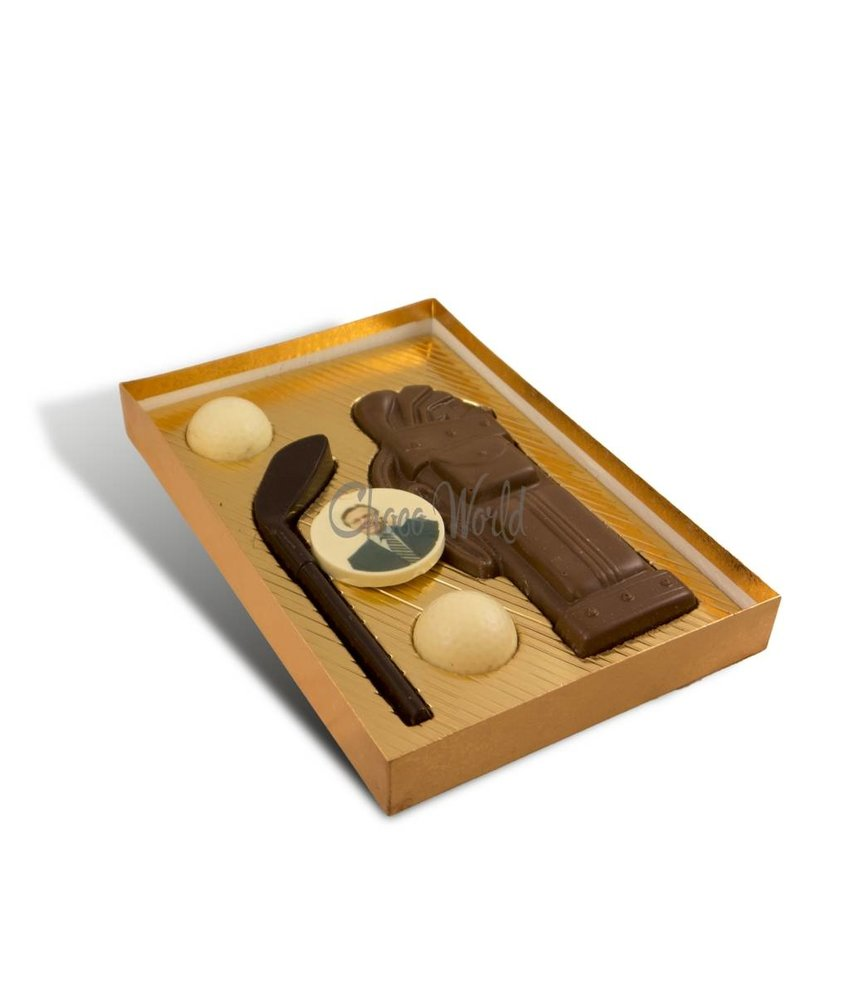 Chocolaterie Vink Golfset met Foto/Logo