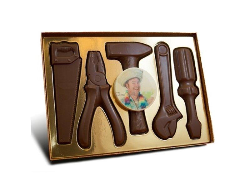 Chocolaterie Vink Gereedschap met Foto/Logo