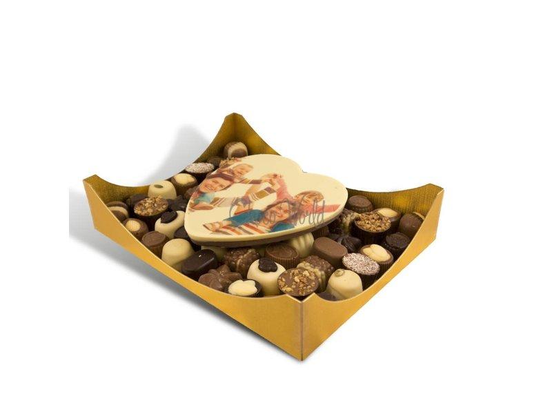 Chocolaterie Vink Bonbons Assorti Groot met Hart Foto/Logo