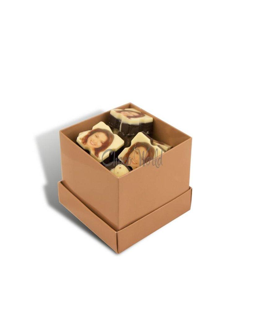 Chocolaterie Vink Bonbons Assorti Klein met 5 Logo/Foto