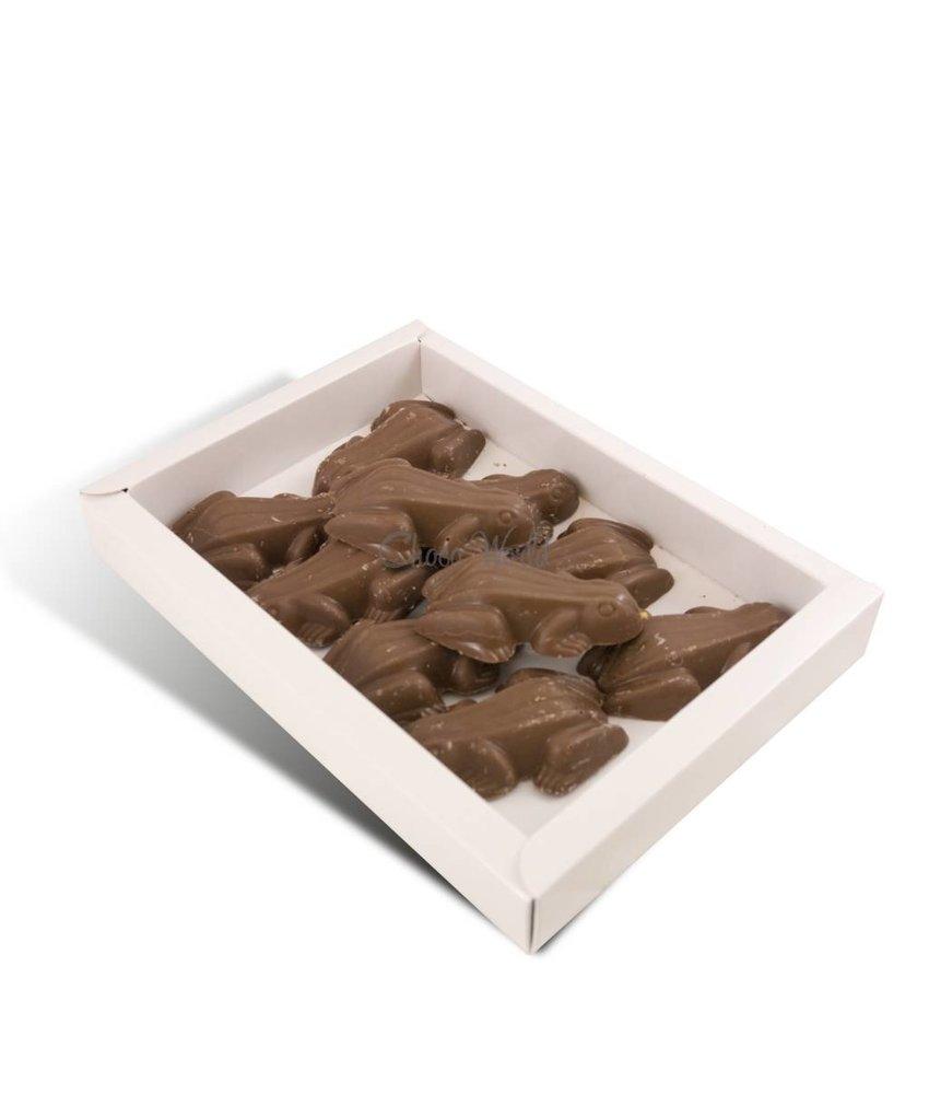 Chocolaterie Vink Chocolade kikkers 10 stuks
