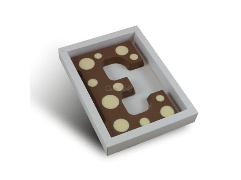 Chocolaterie Vink Letter met stippen