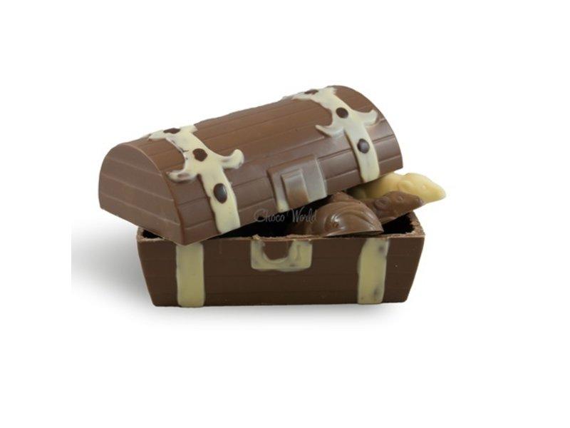 Chocolaterie Vink Schatkist met slagroom muizen
