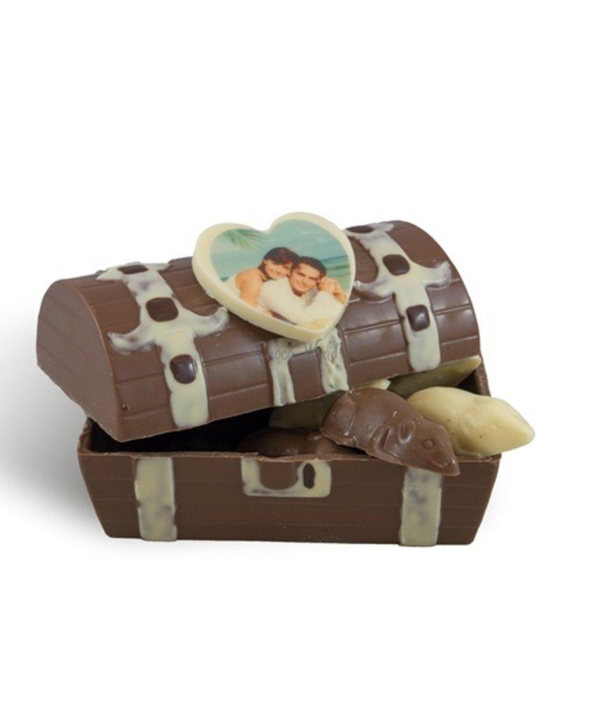 Chocolaterie Vink Schatkist fotohartje met muizen