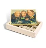 Chocolaterie Vink Bonbons 15 st. Melk Wit Rechthoek + kaart met Foto / Logo - Copy