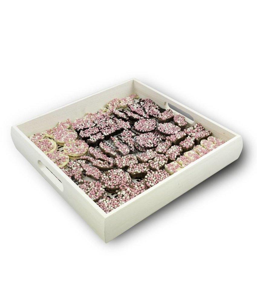 Chocolaterie Vink Geboorte assortiment roze