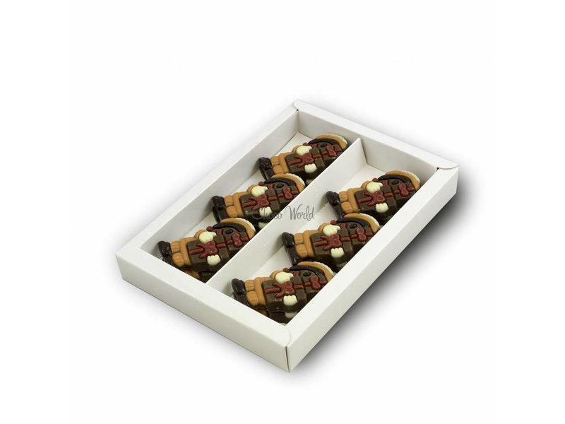Chocolaterie Vink Pietjes melk oranje pakje