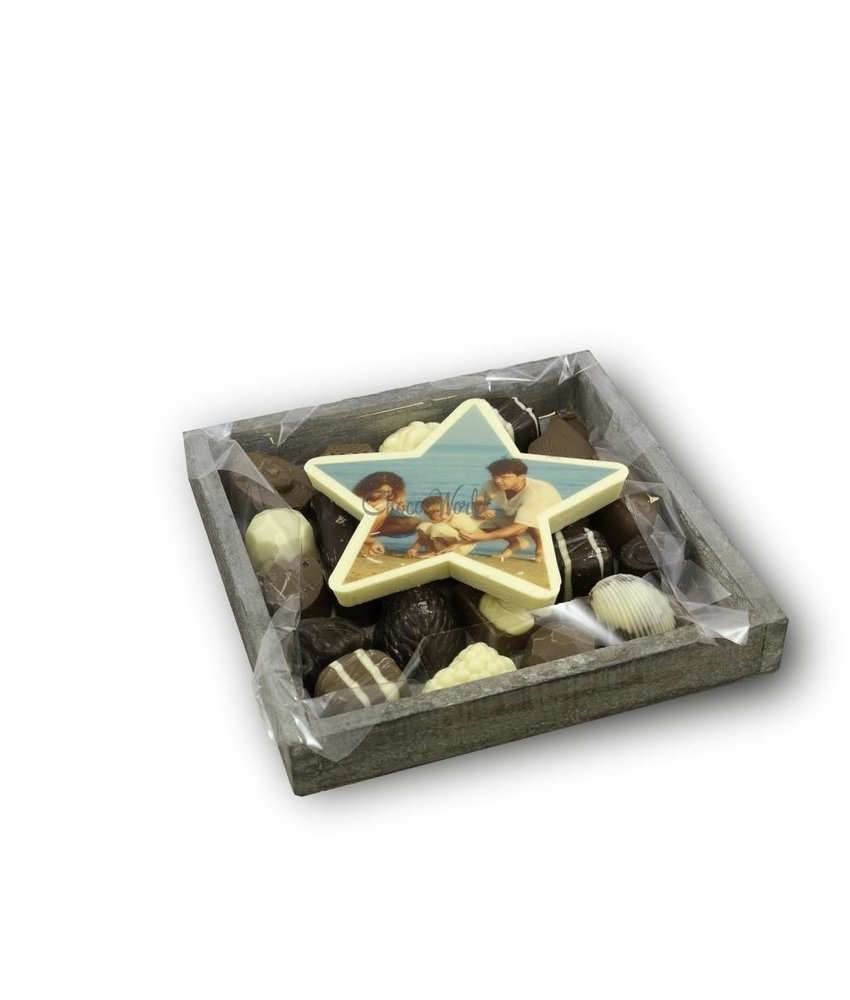 Chocolaterie Vink Slagroom Bonbons Assortiment Klein met Chocoladester