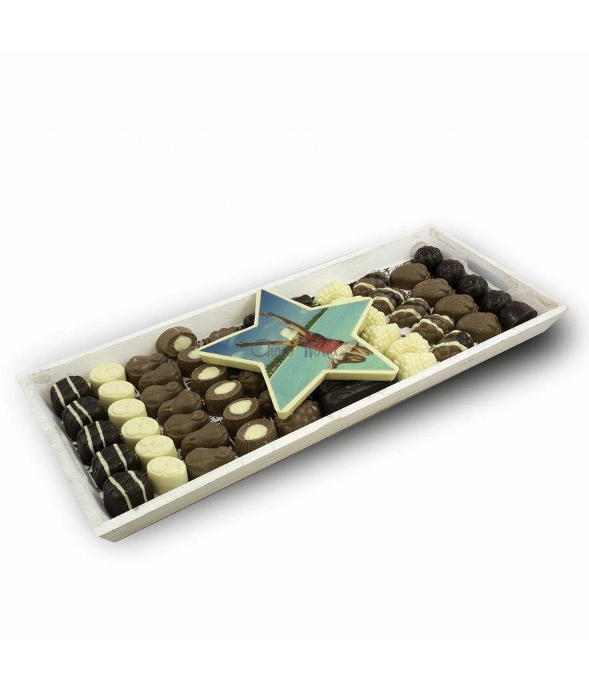 Chocolaterie Vink Slagroom Bonbons Assortiment Super met Chocoladester